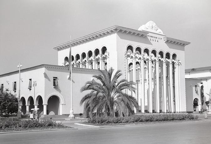 """Павильон """"Грузинская ССР"""", 1956 год"""