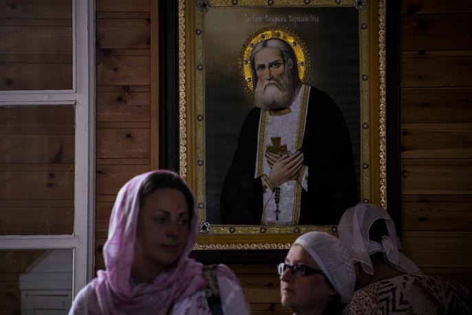 Серафим Саровский - один из наиболее почитаемых русских святых