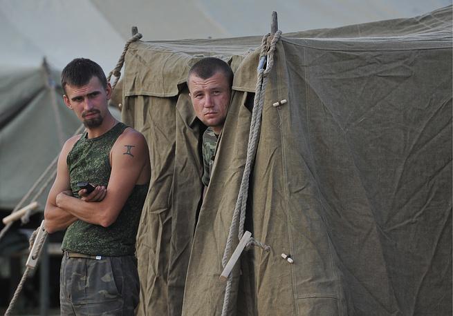 Оставшиеся военнослужащие не приняли решения и находятся на территории России
