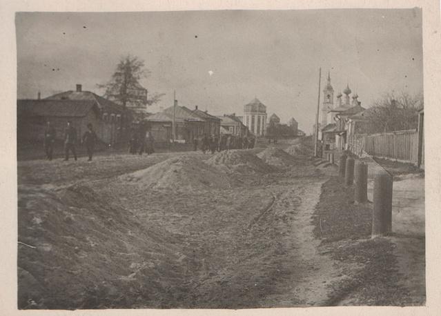 Владимирская улица в настоящее время является главной улицей Суздаля