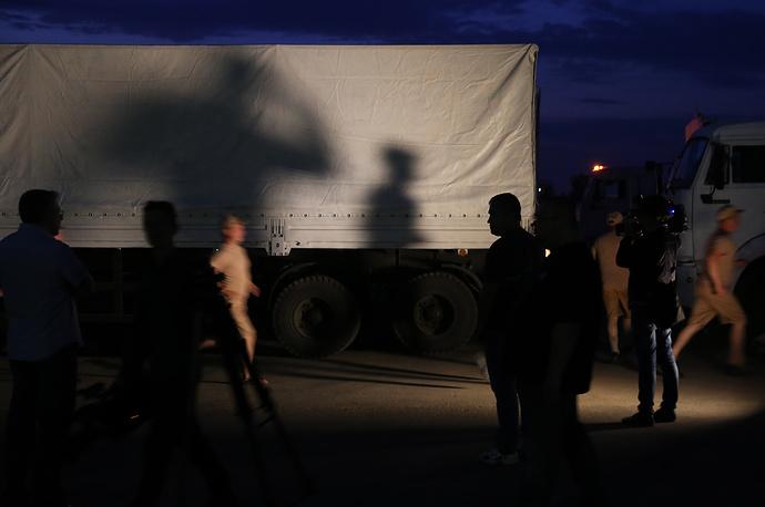 Автоколонна доставит 2 тыс. тонн гуманитарного груза