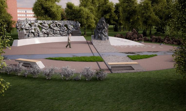 3D-макет будущего монумента