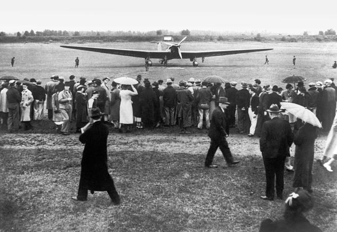 Беспосадочный перелет Москва - Северный полюс - Америка, 1937 год