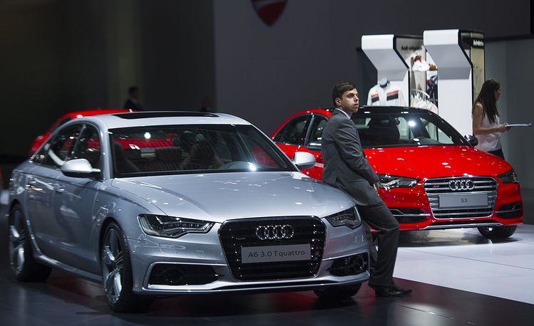 Автомобили Audi A6 quattro и Audi S3