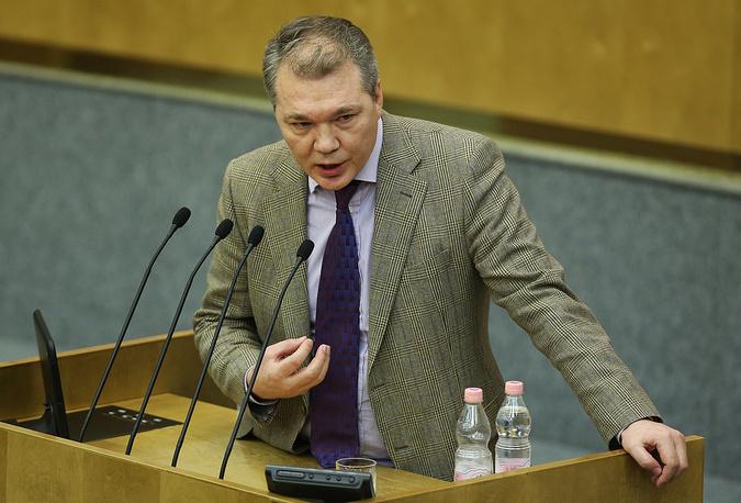 Председатель комитета ГД по международным делам коммунист Леонид Калашников