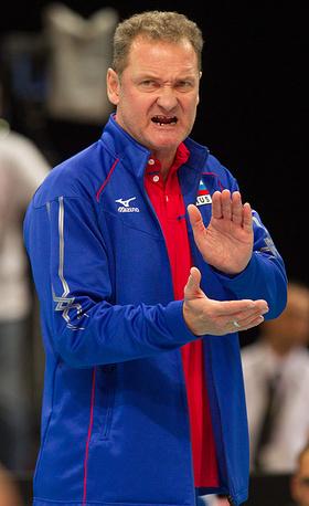 Главный тренер сборной России Андрей Воронков
