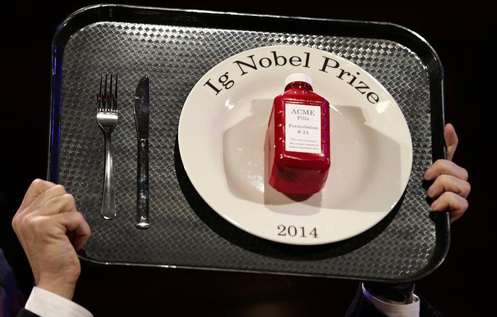 Приз Шнобелевской премии-2014
