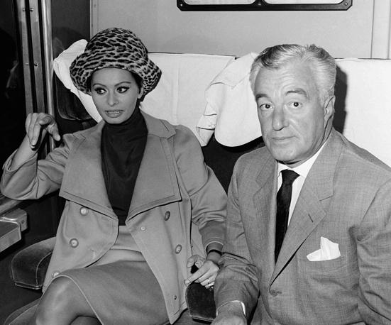 Софи Лорен и Витторио Де Сика, 1963 год