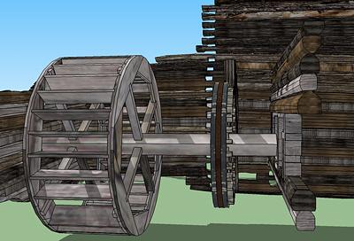Проект реконструкции мельницы, разработанный студентами  ИрГТУ