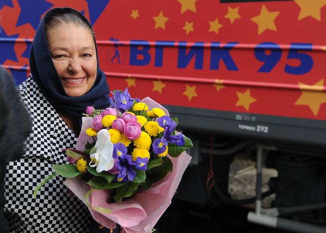Заслуженная артистка России Наталья Бондарчук
