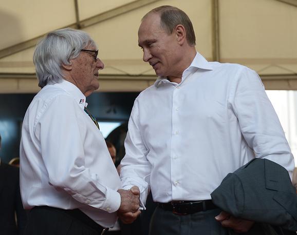 После финиша Берни Экклстоун рассказал, что Путин остался доволен проведением Гран-при России