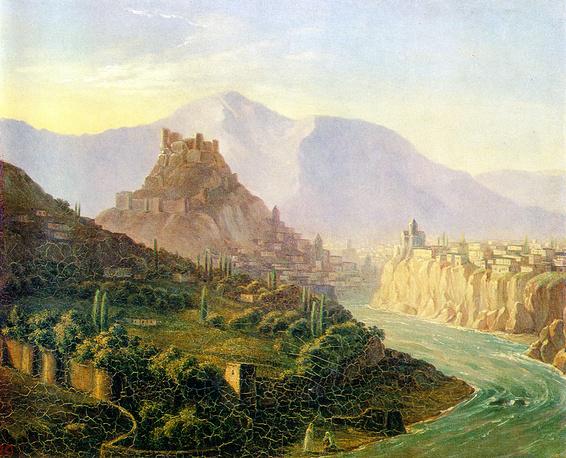 """Тифлис"" (масло, 1837)"