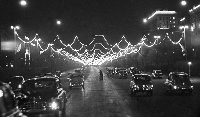Первомай в Москве, 1958 год