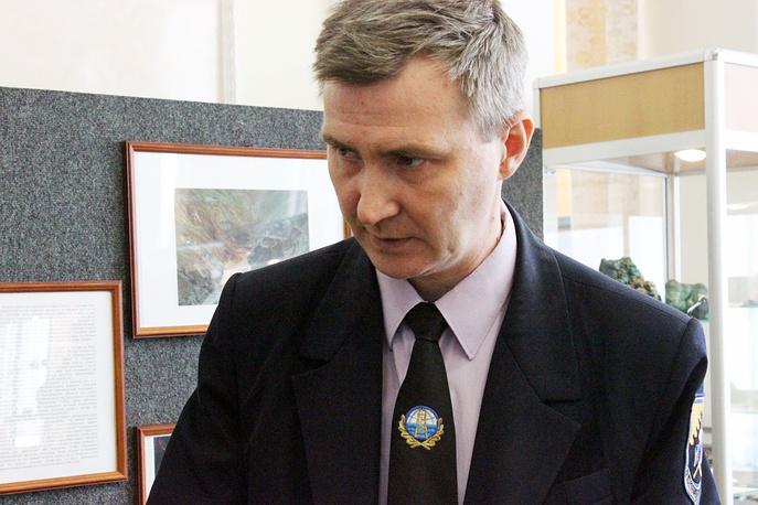 Дмитрий Клейменов, директор Уральского геологического музея Горного университета