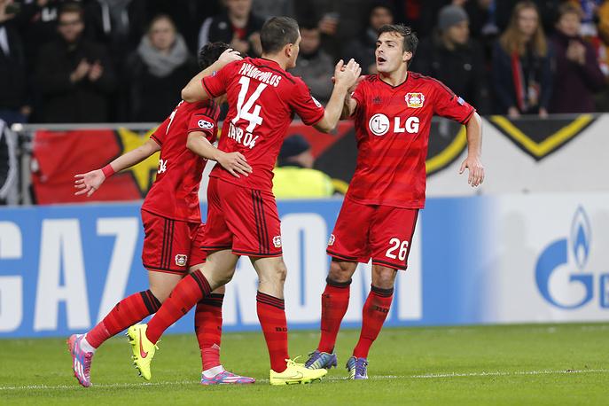 Немецкий клуб открывает счет в матче