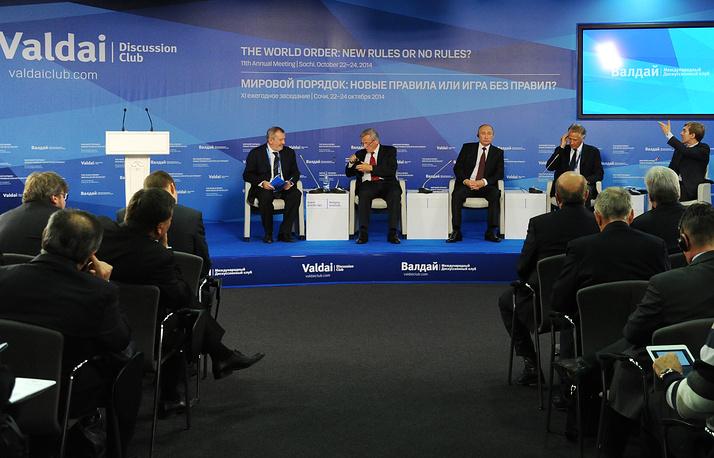 Российский лидер также высказался по вопросам разоружения и ядерной проблематике