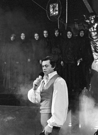 """Спектакль """"Юнона и Авось"""" на сцене театра имени Ленинского комсомола, 1981 год"""