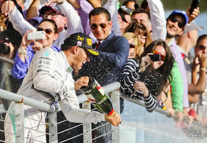 Дождь из шампанского