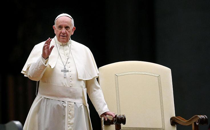 4. Папа римский Франциск