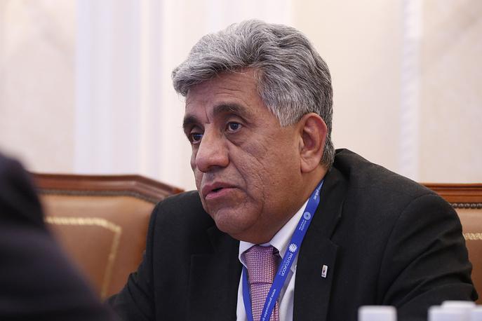 Глава торгового представительства Эквадора Карлос Лема Боне