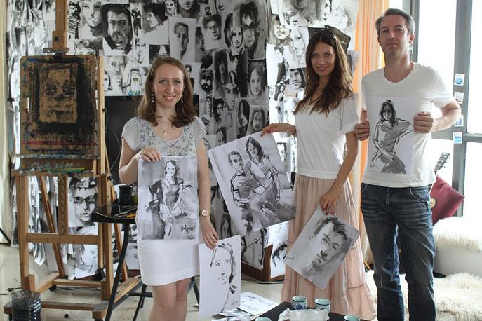 Портреты и их модели