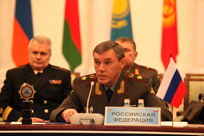 Первый заместитель министра обороны РФ - начальник Генштаба Вооруженных сил РФ Валерий Герасимов