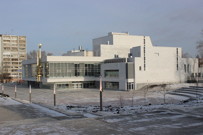 Обновленное здание Екатеринбургского ТЮЗа