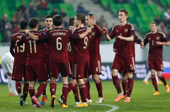Футболисты сборной России впервые с февраля 2012 года одержали победу в гостевом товарищеском матче