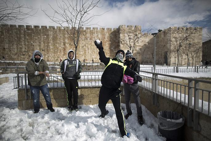 Иерусалим, декабрь 2013 года