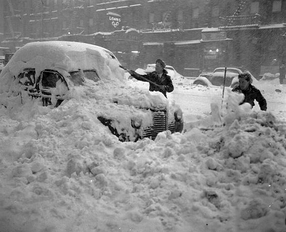 Нью-Йорк, декабрь 1947 года