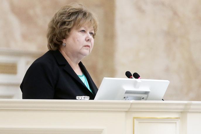 Вице-губернатор (куратор социального блока) Ольга Казанская