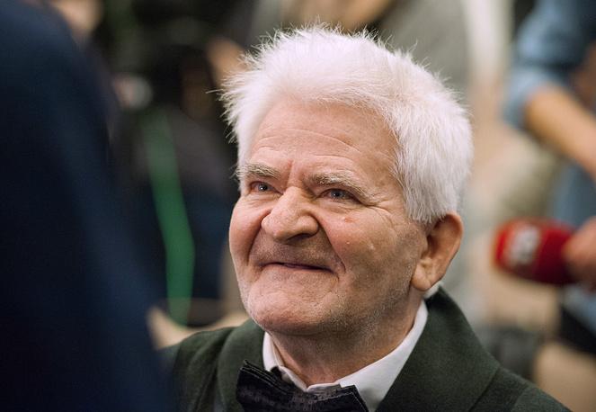 Экс-чемпион мира по шахматам Борис Спасский на церемонии открытия