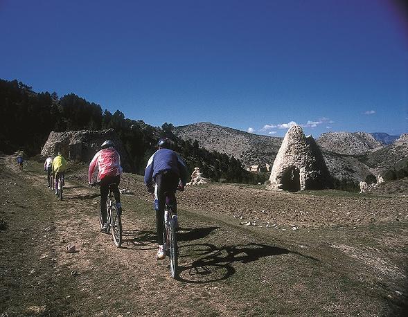Велосипедная прогулке в природном парке Сьерра-Эспунья
