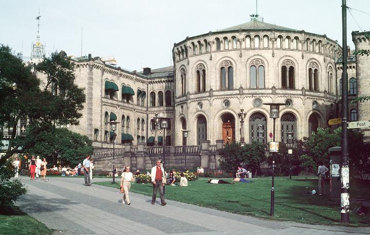 Стортинг - парламент Норвегии, Осло (1983 год)