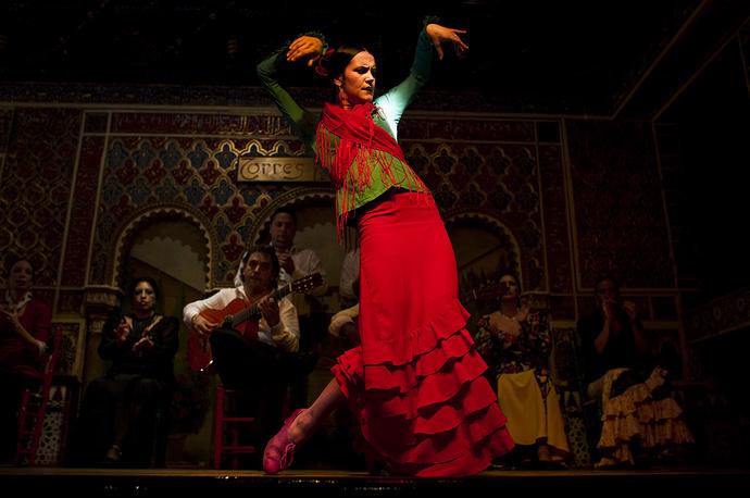 Испанский танец фламенко внесен в список ЮНЕСКО в 2010 году
