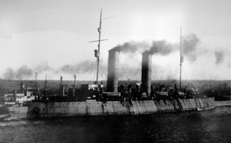 """Ледокол """"Красин"""" (ранее """"Святогор""""), 1917 год"""