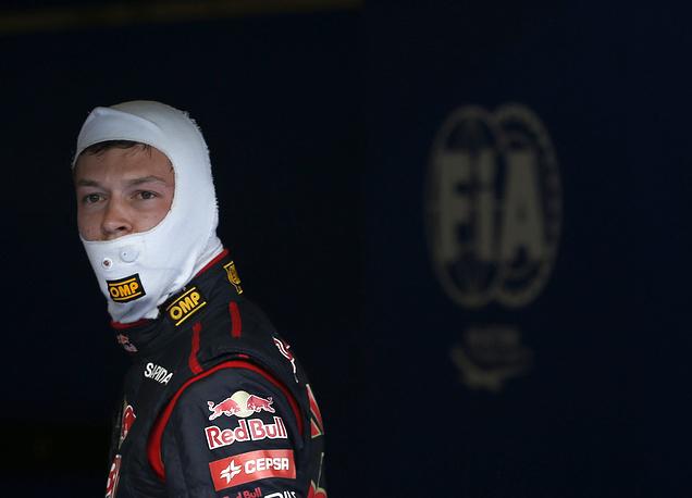 Даниил Квят во время квалификации Гран-при Австрии