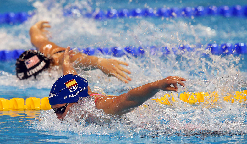 Представительница Испании Мирея Бельмонте Гарсия на турнире в Дохе завоевала четыре золота, установив два мировых рекорда