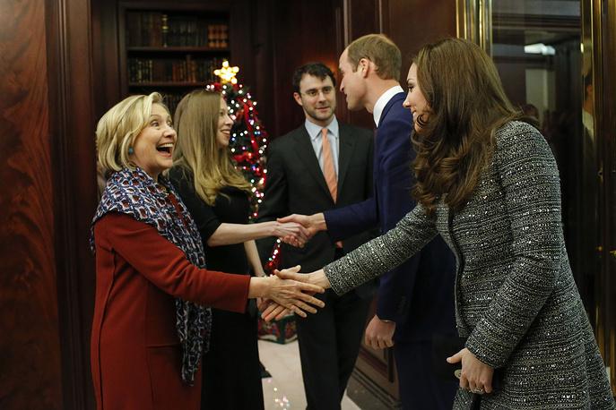 Встреча с бывшим госсекретарем США Хиллари Клинтон, 8 декабря 2014 года