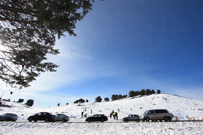 Зима в Среднем Атласе раскрывает великолепие марокканской природы с необычной стороны