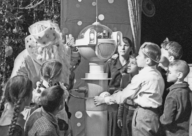 Новогоднее представление для детей, Москва, 1964 год