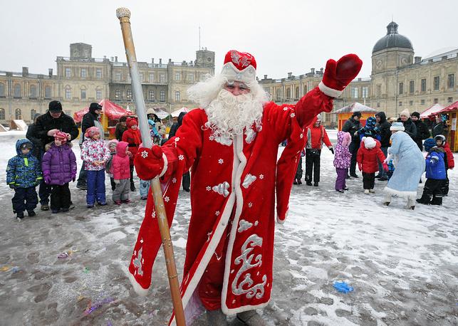Новогодние гуляния в Гатчине, Ленинградская область