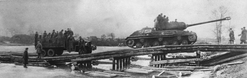 Переправа через Одер, 1 февраля 1945 года