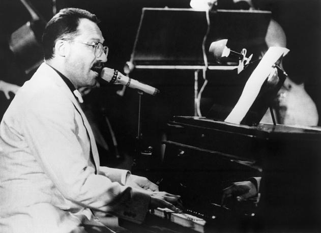 Максим Дунаевский на 23-м фестивале советской песни в Зелена-Гуре, 1987 год