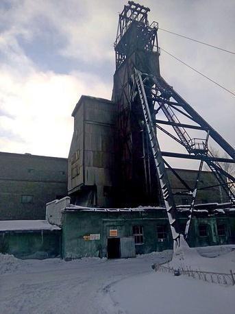 """На шахте """"Южная"""" в городе Кушва после взрыва"""