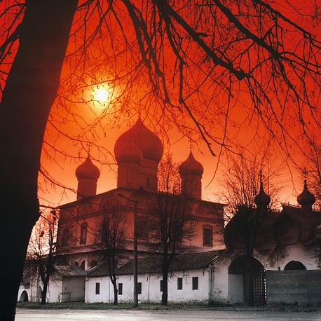 Знаменский собор в Новгороде, 1993 год