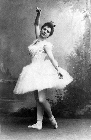 Пьерина Леньяни (Одетта), 1895 год