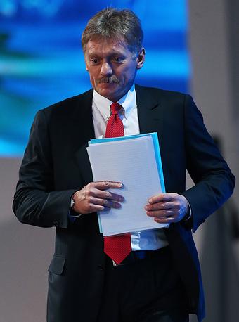 Выпускник ИСАА пресс-секретарь президента РФ Дмитрий Песков
