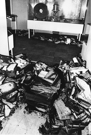 5 февраля 1997 года произошел пожар в книгохранилище библиотеки Главной астрономической обсерватории в Санкт- Петербурге. От огня и воды пострадало приблизительно 15 тыс. единиц хранения, в том числе 5 тыс. редких печатных изданий из так называемого Фонда Струве (потери примерно 20% коллекции), книги из отделов философии и справочной литературы (потери около 15%), отдела брошюр (потери около 20%)
