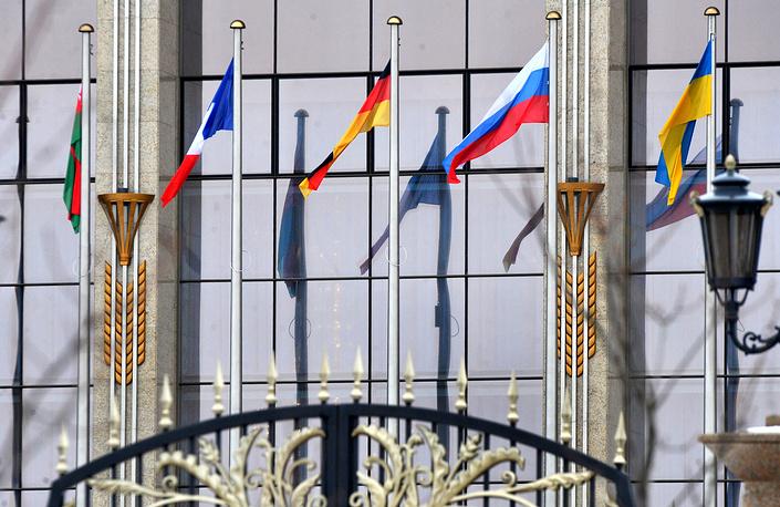 Саммит проходил во Дворце независимости
